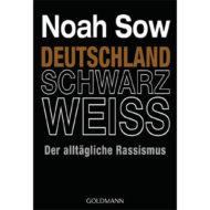 Buchcover Deutschland Schwarz weiss von Noah Sow