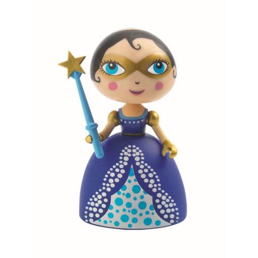 Prinzessin Fairy Blue von Djeco mit goldener Brille