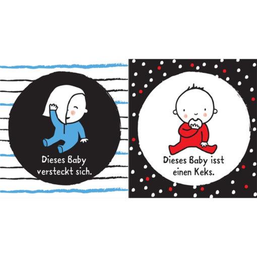 """Inneseite """"Babys erste Bilder - Babys"""""""