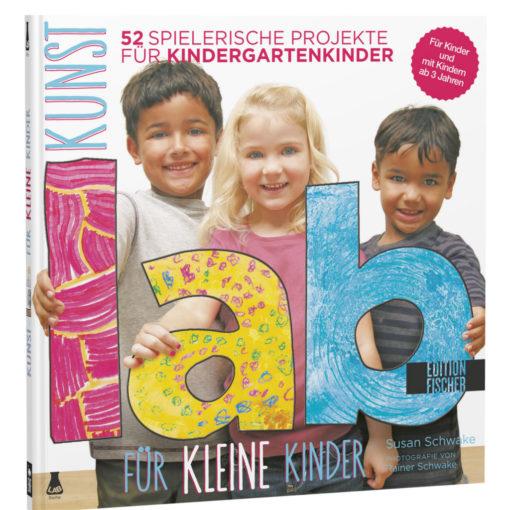 Buchcover Kunst Lab für kleine Kinder