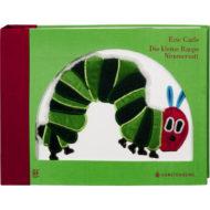 Buchcover: kleine Raupe Nimmersatt Reliefausgabe Braille