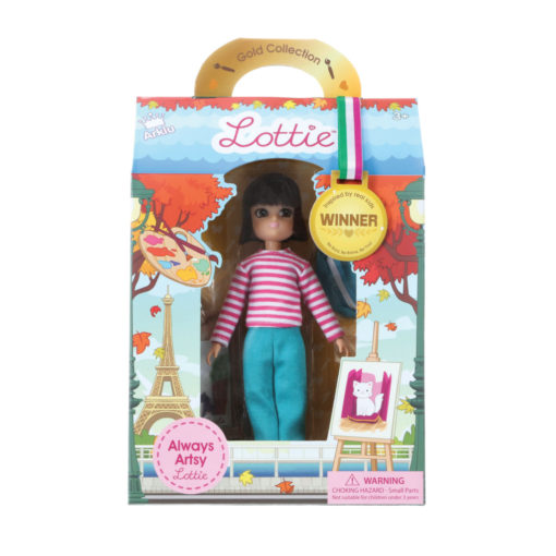 Puppe Lottie Always Artsy im Karton