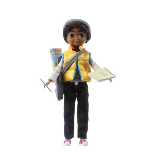 Puppe Sammi Kinderreporter der Produktfamilie Lottie von Arklu