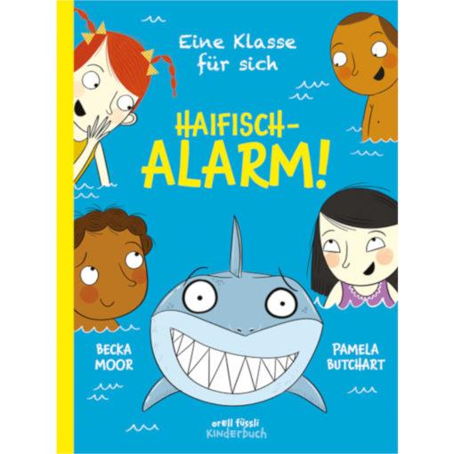 """Buchcover """"Eine Klasse für sich - Haifisch-Alarm!"""""""