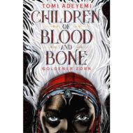 Buchcover. Eine Schwarze Frau mit rotem Stirnband und Schmuck und weißen Haaren.