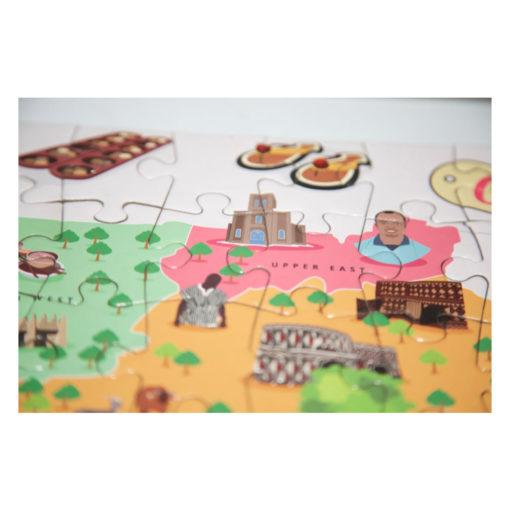 Ghana Puzzle von Very Puzzled - Jigsaw Ghana