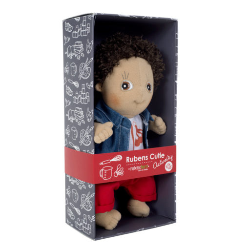 rubens-barn-cutie-activity-charlie-schwarze-puppe-im-karton
