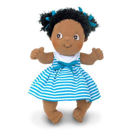 rubens-barn-cutie-jennifer-schwarze-puppe-diversity-spielzeug-stoffpuppe