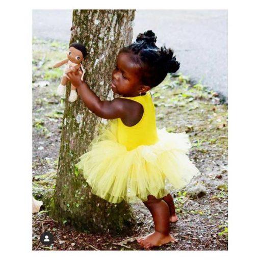 rubens-barn-mini-eco-buds-basil-diversity-schwarze-stoffpuppe-ballerina-baum