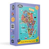 Großes Afrika Puzzle mit 32 Teilen ab 3 Jahren