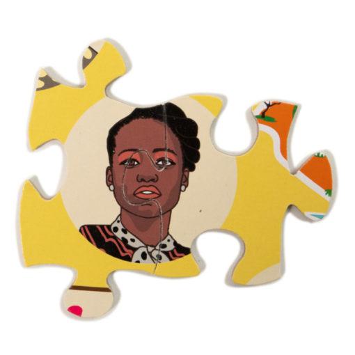 Detail Puzzle Kenia