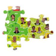 Detail Puzzle London viele Schwarze Menschen - Vorbilder