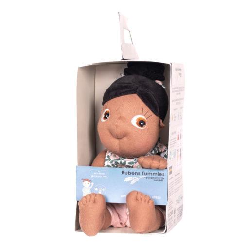 Rubens Barn Tummies: Schwarze Puppe Summer im Karton