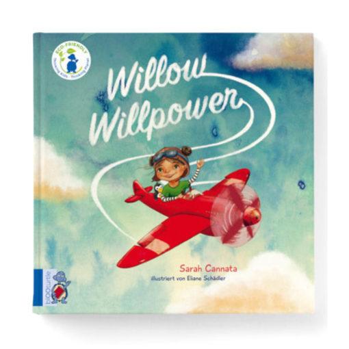 Buchcover: Willow Willpower - Mädchen im roten Flugzeug