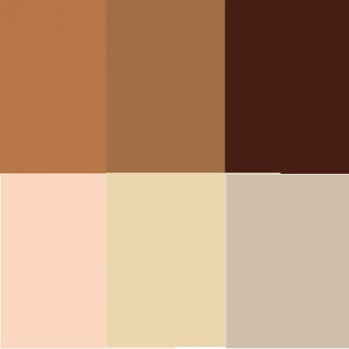 Hautfarbenset 6 Acrylfarben Hauttonset Kindergarten Bastelbedarf