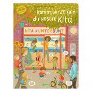 Cover von Komm, wir zeigen dir unsere Kita - Constanze von Kitzings Wimmelgeschichten 1